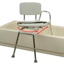 transfer sliding bath bench