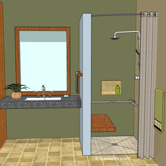 Curbless Shower 8 Ways To Contain The Water Inside