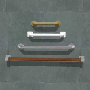 horizontal grab bars homeability
