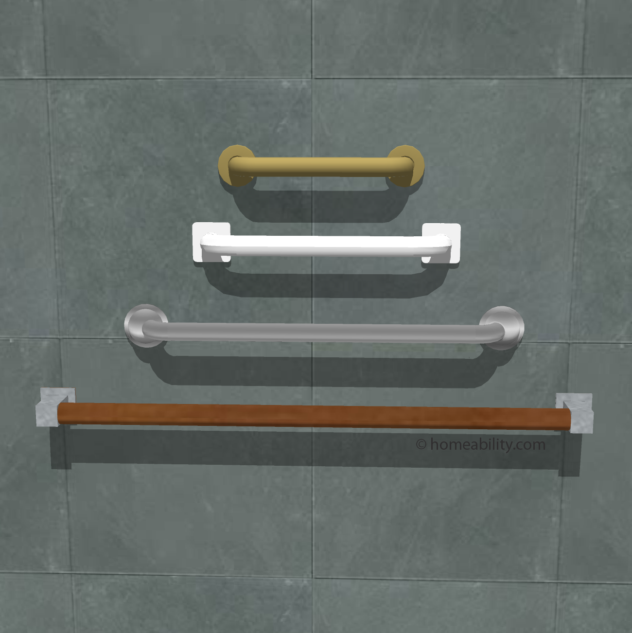 Grab Bars: Which Type is Best? | homeability.com