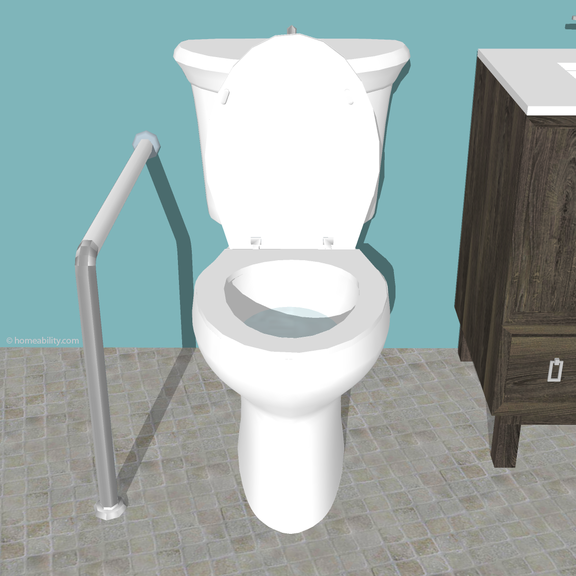 Toilet Rails: Which Type is Best? | homeability.com