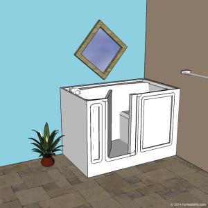 Walk In Bathtub Homeability